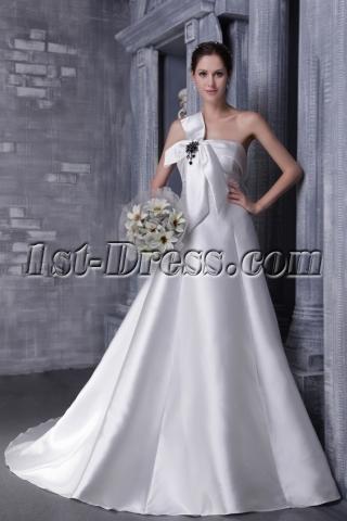 Simple Princess 2012 Wedding Dress 1162
