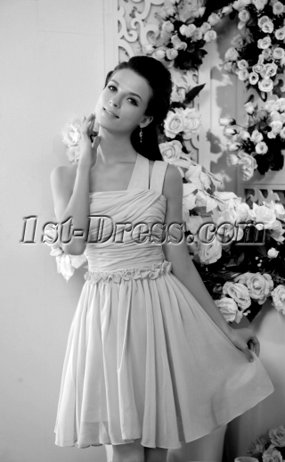 Yellow Pretty Junior Short Prom Dresses IMG_0239