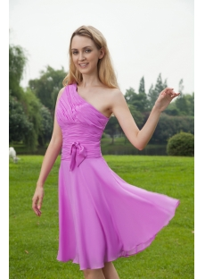0rchid Beach One Shoulder Elegant Bridesmaid Dresses IMG_8128