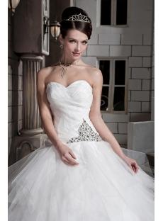 2013 Modest Ball Gown Wedding Dresses GG10921st dresscom