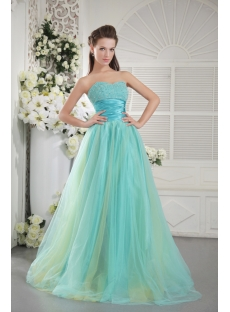 Beaded Sweetheart Colorful Quinceanera Dress IMG_9770