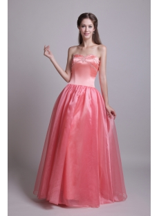 Beautiful Long Simple Sweet 15 Dress IMG_0604