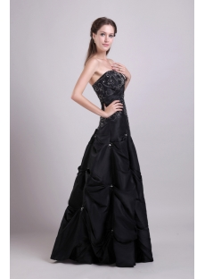 Black Pick up Best Quinceanera Gown 0840