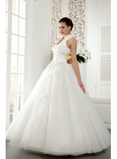 Brilliant 2013 Ball Gown Dress with High Neckline IMG_5469