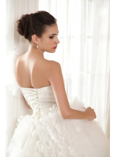 Brilliant One Shoulder Luxurious Wedding Dresses 2013 IMG_5737