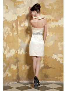 Champagne Short Homecoming Dresses under 100 Dollars GG1064