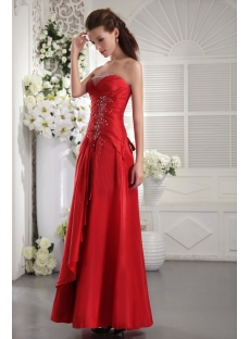 Cheap Long Simple Quince Gown IMG_9968