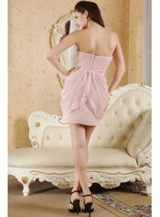 Cute Short Dusty Rose Homecoming Dresses IMG_5355