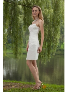 Discount Stunning Short Bridal Gown IMG_7817