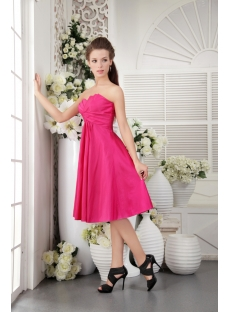 Empire Beautiful Junior Prom Dress in Fuchsia IMG_0146