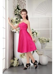 Empire Beautiful Junior Prom Dress in Fuchsia IMG_0146