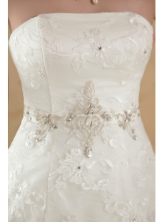 Exclusive Ball Gown Wedding Dresses with Lace IMG_5545