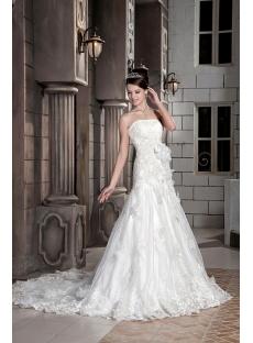 Exclusive Sheath Destination Wedding Dresses GG1089