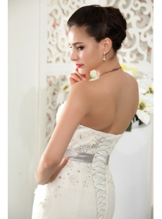 Expensive Strapless Mermaid Winter Bridal Gown IMG_5480