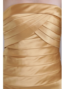 Gold Mini Homecoming Dress under $100