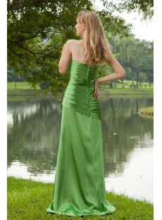 Green Long Clearance Formal Prom Dress IMG_8192