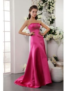 Hot Pink Pretty Prom Dresses Long under 200 IMG_0259