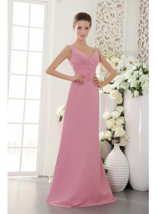 Lilac Deep V-Neckline Long Ball Gown for 2013 IMG_9536