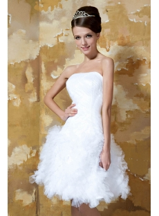 Lovely Informal Short Bridal Gowns 2013 GG1015