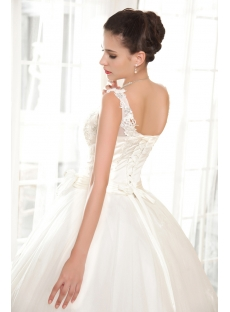 Lovely Plus Size Quinceanera Dresses with V-neckline IMG_5664