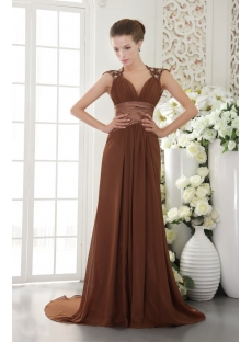 Modest Backless Long Mother of Brides Dress IMG_9601
