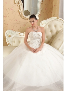 Modest Ball Gown Quinceanera Dresses Year 2013 IMG_5613