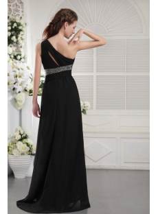 Noble Black Pretty Prom Dress with One Shoulder IMG_9880