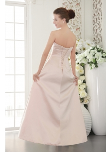 Pearl Pink Long Elegant Pretty Prom Dress IMG_9498