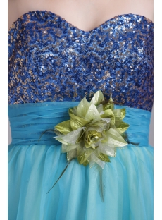 Perfect Long Colorful Quinceanera Gown Dress IMG_0636