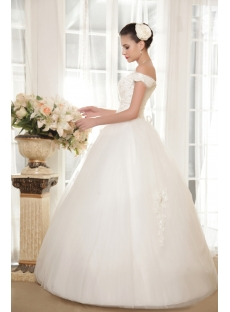 Perfect Off Shoulder Ball Gown Quinceanera Dresses 2013 IMG_5627