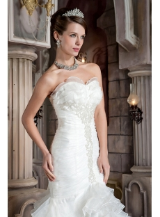 Popular Petite Trumpet Style Bridal Gown GG1031