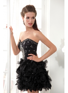 Sweet 16 Dresses Short Black