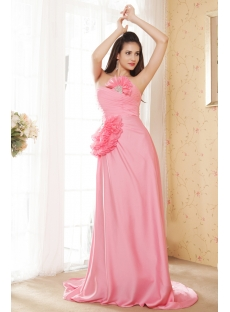 Pretty and Exclusive Water Melon Prom Dress IMG_5399