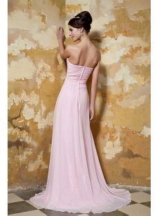 Pretty in Pink Prom Gown with Shawl GG1038