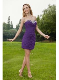 Purple Short Graduation Dresses for High School 2013 IMG_8065