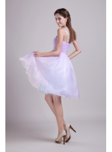 Short Lavender Cute Quinceanera Dress 0863