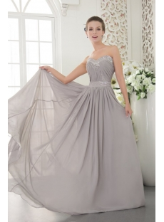 Silver Chiffon Evening Dresses for Plus Size Women Australia IMG_9614