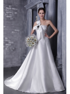 Simple Princess 2012 Wedding Dress 1162
