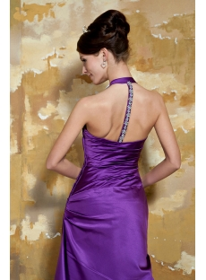 Purple Simple Sexy Evening Dress with T-Back GG1061
