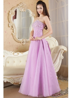 Sweet Lilac Purple Long Sweet 16 Dresses IMG_5308