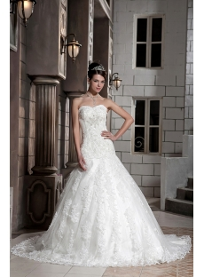 sweetheart mature lace mermaid bridal gowns with corset