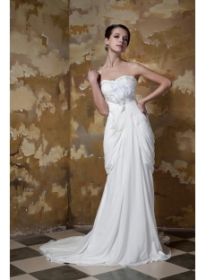 Sweetheart Unique Garden Wedding Dress GG1100