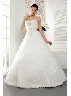 White Glamorous Best Quinceanera Dresses IMG_5461