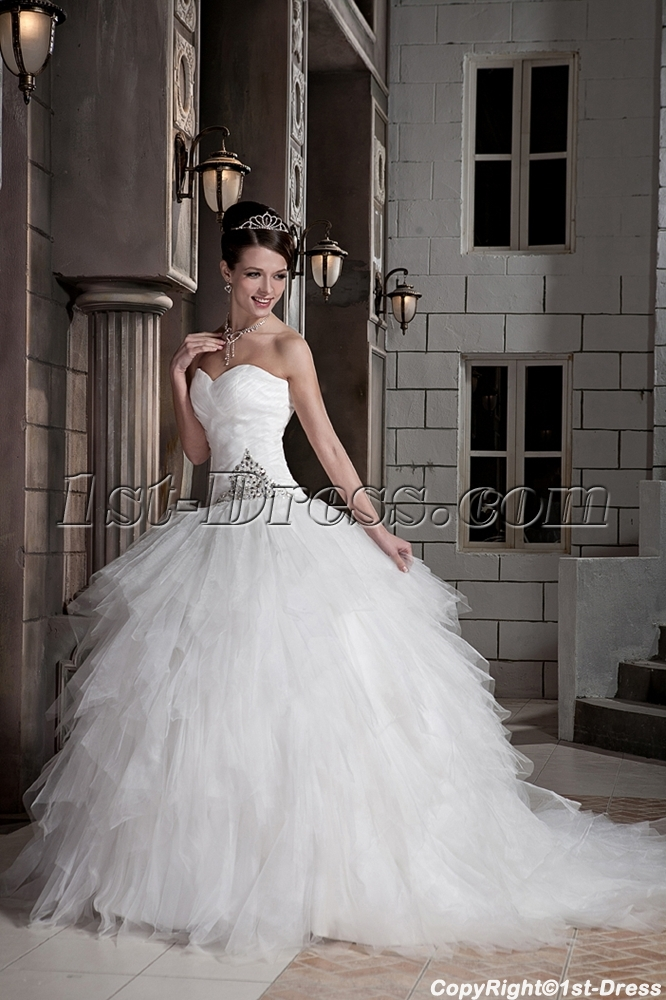 2013 modest ball gown wedding dresses gg1092 1st. Black Bedroom Furniture Sets. Home Design Ideas