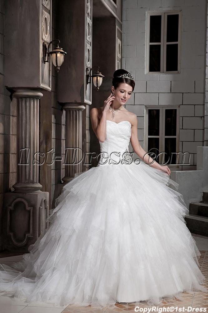 456e4083f5f7 Modest Ball Gown Wedding Dresses - Wedding Dress & Decore Ideas