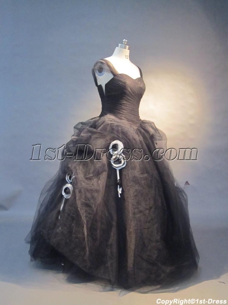 images/201305/big/Black-Strapless-Satin-Tulle-Ball-Gown-0452-1499-b-1-1370027545.jpg