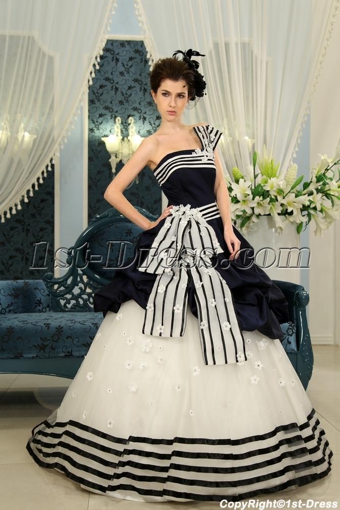 images/201305/big/Dark-Navy-Floor-Length-Taffeta-Quinceanera-Dress-F-126-1400-b-1-1369773288.jpg