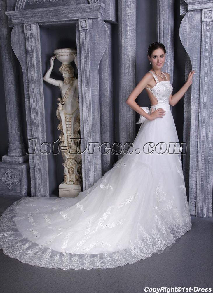 Lace backless wedding dresses for summer 11321st dress lace backless wedding dresses for summer 1132 loading zoom junglespirit Gallery