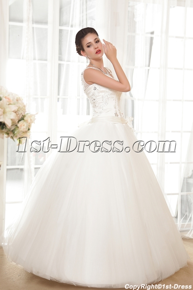 Lovely Plus Size Quinceanera Dresses with V-neckline IMG_5664:1st ...
