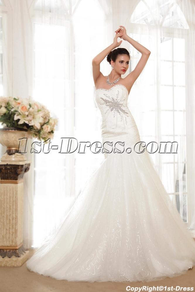 Mystique Trumpet Mermaid Wedding Dresses IMG_5563. Loading Zoom
